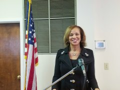 Image of Speaker: Linda Woodard, DeKalb County School District representative
